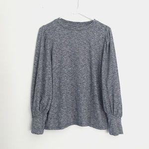 LOFT Balloon Sleeve Pullover Sweater | L (EUC)